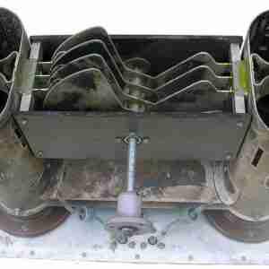 4ГИ7БТ панель блок под 4 радиолампы ГИ7БТ