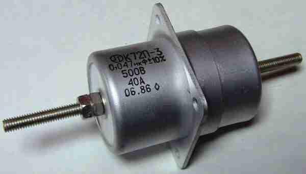 К72П-3 конденсатор фторопластовый