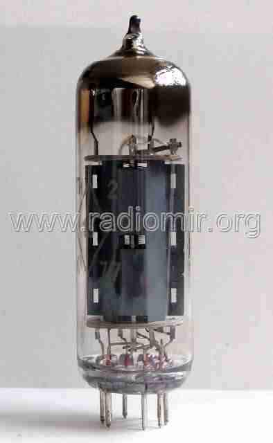 EL84 радиолампа