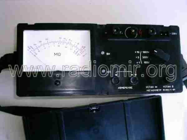 Ф4102 мегаомметр