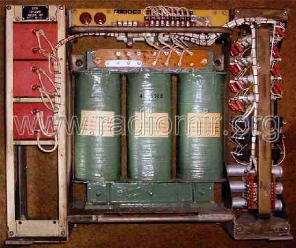 Блок питания высоковольтный радиостанции Корвет-2