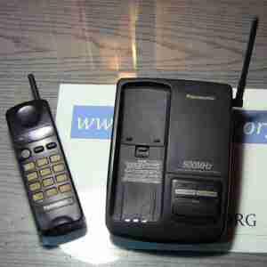 Panasonic KX-9500 телефон радиоудлинитель