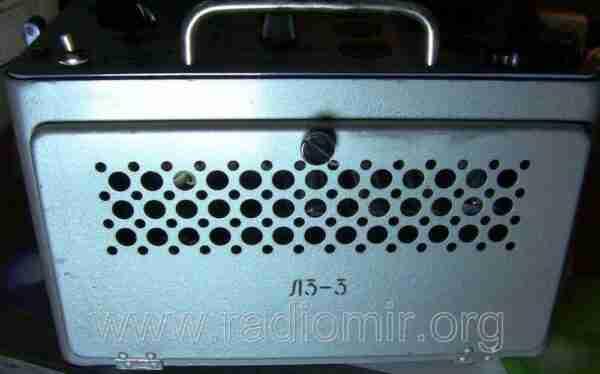 Л3-3 - Измеритель параметров электронных ламп. Вид с другого боку