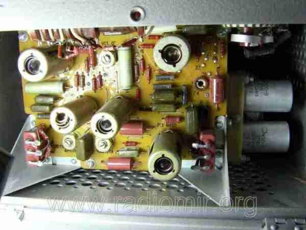Л3-3 - Измеритель параметров электронных ламп. Детали внутри