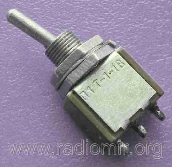 П1Т-1-1В переключатель тумблер
