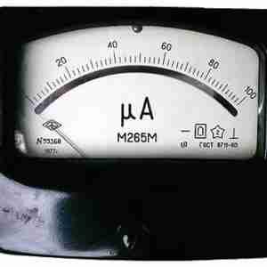 М265М Микроамперметр с зеркальной шкалой