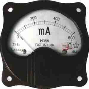 М358 Миллиамперметр