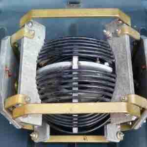 Вариометр - катушка переменной индуктивности радиостанции Р-140
