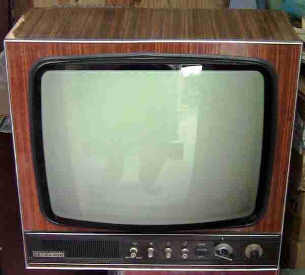 ВЕСНА-308 телевизор ламповый