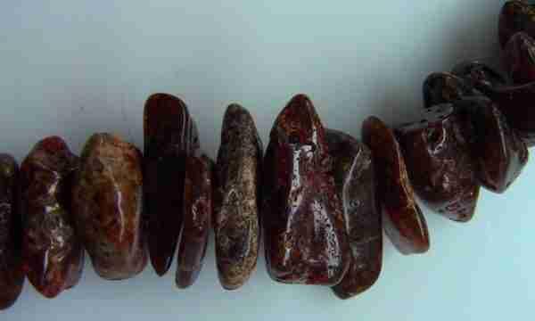 Бусы из натурального янтаря