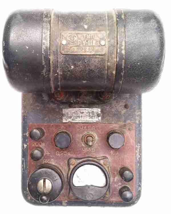 РУ-11Б вибропреобразователь напряжения