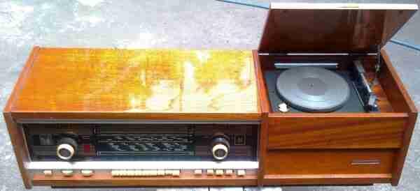 Радиола Симфония-стерео ламповая