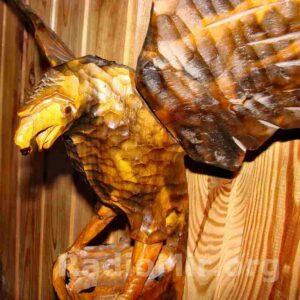 Статуэтка Орла из древесины