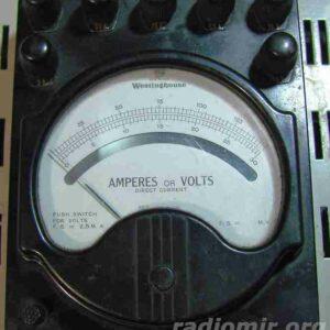 Ампервольтметр Westinghouse Electric Corporation